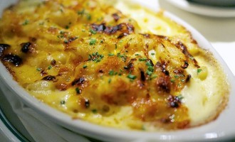 Heart Healthy, Baked Macaroni and Cheese