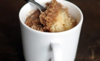 Learn To Bake A Mini Cake In A Cup