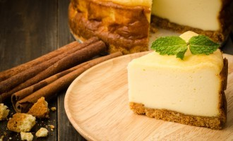 Old Fashioned No Bake Cheesecake