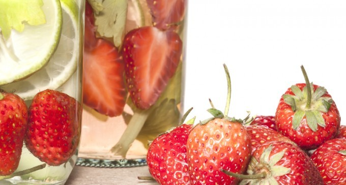 Detox With Fruit Infused Water Recipe Station