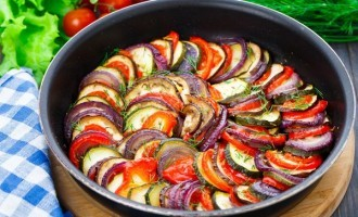 Fresh Vegan Ratatouille Casserole Inspired By Julia Child's