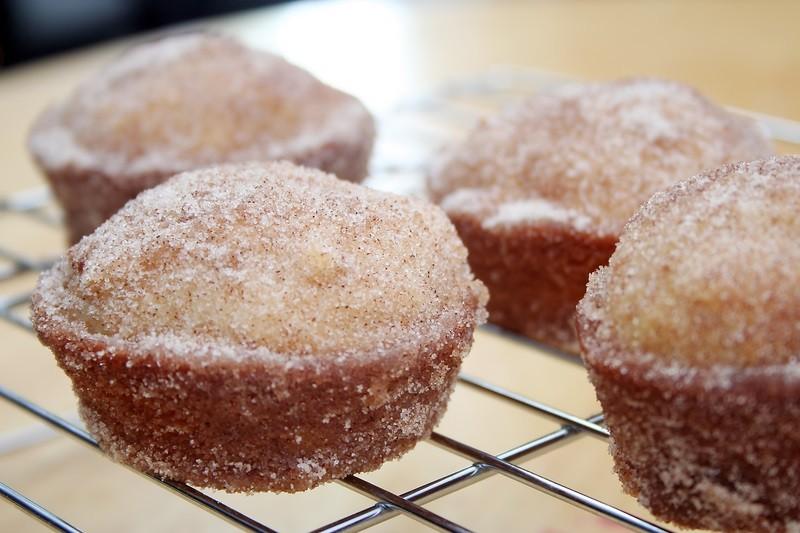 ... With A Delicious Cinnamon Sugar Doughnut Muffin | Recipe Station