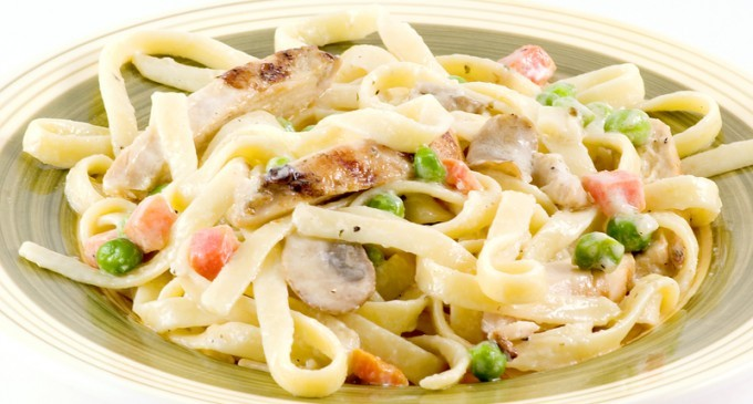 If You Like Chicken Noodle Soup Then You Are Going To Love This Tetrazzini Casserole