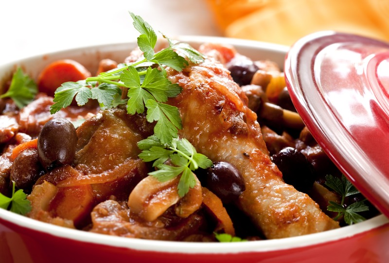 Get Back To School Recipe: Slow Cooked Chicken Cacciatore In A Crock ...