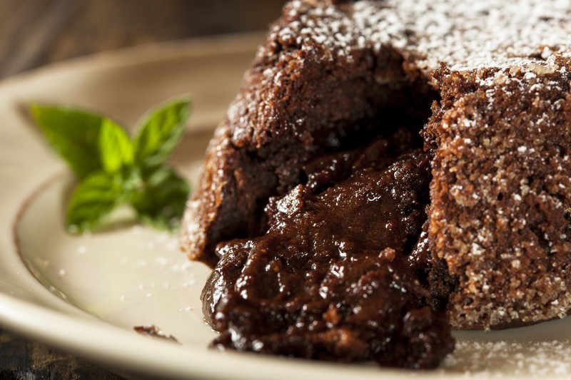 The Molten Chocolate Lava Cake Has Vanilla Beans, A Gooey-Center & A ...