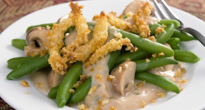 Campbell's Inspired: Traditional Green Bean Casserole