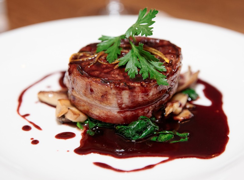 Crock Pot Creation: Bacon Wrapped Beef Tenderloin With A Balsamic ...