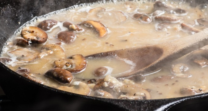 This Vegetarian Mushroom Gravy Will Steal The Show At Your Next Holiday Dinner!