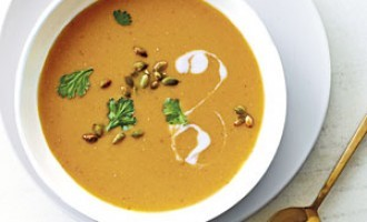 Tired Of Your Normal Soups? This Red Lentil & Pumpkin One Will Spice Things Up A Bit!