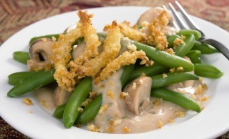 Green Bean Casserole Doesn't Have To Be Made With Canned Soup Anymore…. We Gotta Killer Sauce!