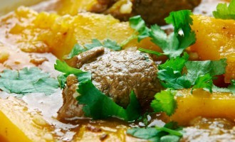 This Beef & Butternut Squash Stew Is Perfect For Fall