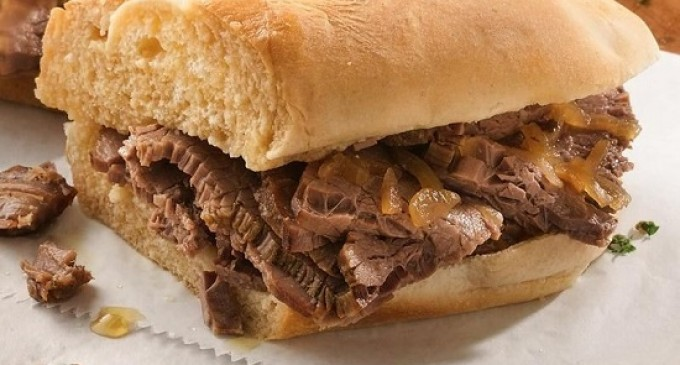 One Of Our Favorite Crockpot Creations: Slow Cooker French Dip Sandwiches