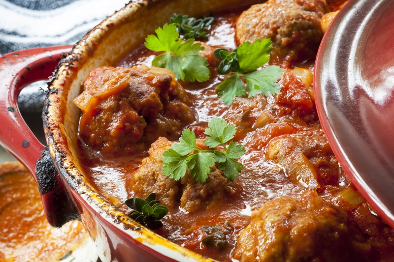 These Crock Pot Italian Turkey Meatballs Are A Real Time Saver ...