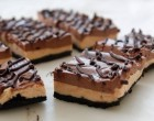 These No-Bake Chocolate Peanut Butter Cheesecake Bars Taste Just Like A Peanut Butter Cup