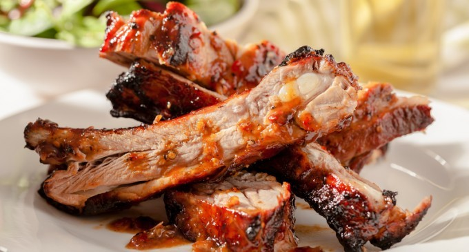 No Napkins Required. These Slow Cooker Ribs Are Finger Licking Good!