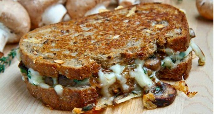 This Mushroom Swiss Is Like A Grilled Cheese Sandwich But… We've Upgraded It
