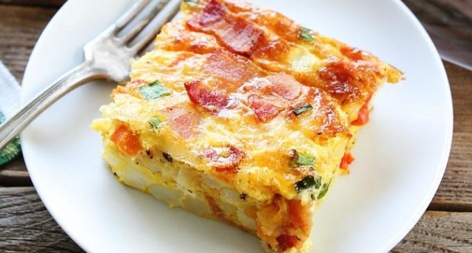 ... Bacon, Egg & Potato Casserole Will Be A New Family Breakfast Favorite