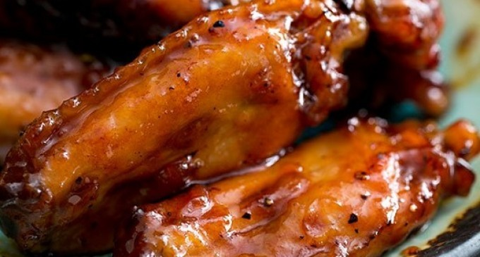 These Maple Bourbon Glazed Chicken Wings Are One Of Those Recipes You ...