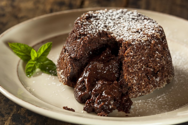 Chocolate Lava Crunch Cake Recipe