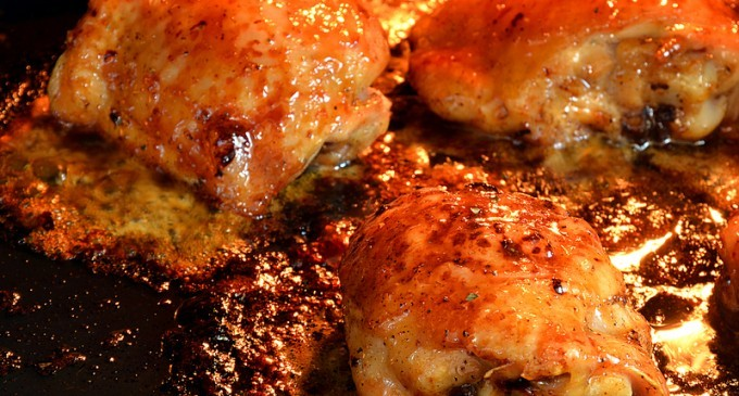 This Oven Roasted Brown Sugar Chicken Made By Rachel Ray Is Unlike Anything You Ve Ever Had Before