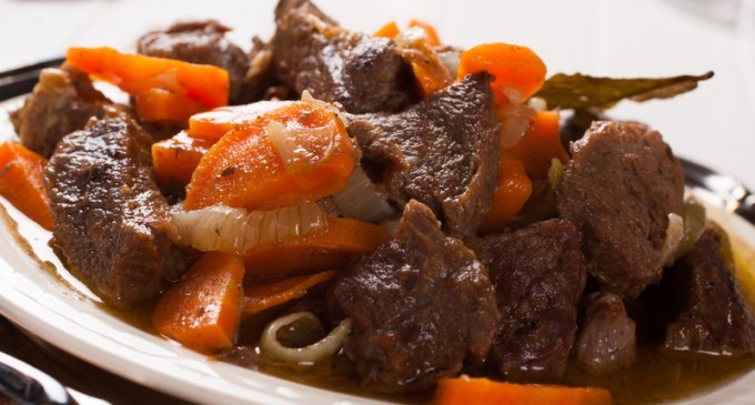 This Beer-Braised Beef With Onions & Carrots Will Have You ...