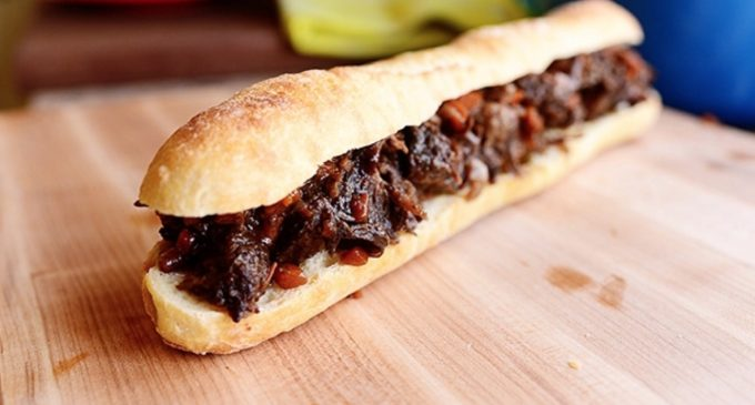 This Blue Ribbon Worthy Short Rib Sandwich Is The Perfect Lunch