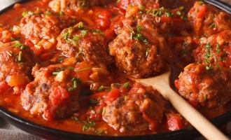 These Savory Meatballs Couldn't Get Any Better; Seriously This Secret Ingredient Made A HUGE DIFFERENCE