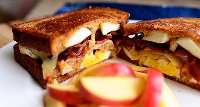 We Didn't Think It Was Possible For A Classic Grilled Cheese To Get Any Better Until We Added This!
