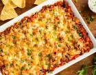 Skip The Tortillas & Make This Cheesy Beef & Sweet Potato Casserole Instead! This Recipe Has All Your Favorites!