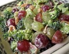 Not All Salads Are Over-The-Top Healthy; This Creamy, Bacon & Broccoli Recipe Is Light Yet Has A Nice Flavor Profile
