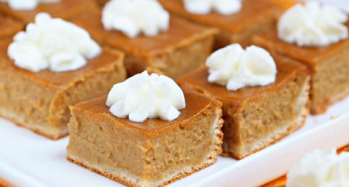 Made With A Rich, Creamy Filling These Pumpkin Pie Bars Are Perfect ...