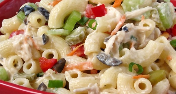 This Isn T Your Ordinary Chicken Macaroni Salad Recipe We Ve Jazzed