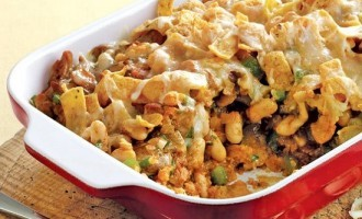 This Cheesy, Beefy, Frito Pie Is A Delicious Comforting, Classic That Always Comes Out Good!