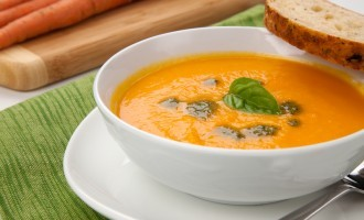 This Carrot & Thyme Inspired Soup Is Creamy, Hearty & Tastes Amazing Around This Time Of Year