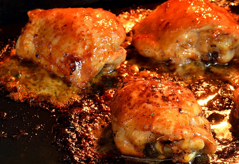 ... This Barbecue Chicken Right In The Oven & The Results Were Incredible