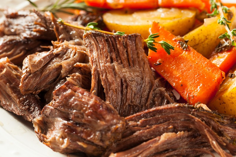 This Simple Beefy Pot Roast Recipe Only Took An Hour To Make & Was ...