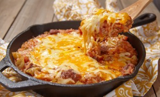 This Beefy, Cheesy Casserole Has A Secret Ingredient Baked Inside That Many People Wouldn't Expect!