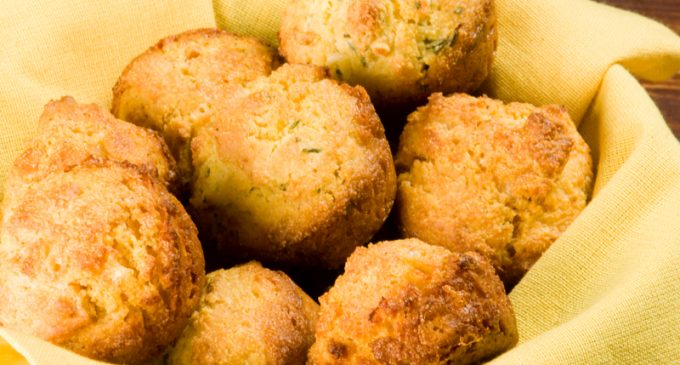 Looking For A Side Dish That Will Fill Everyone Up? These Mozzarella Stuffed Cornbread Muffins Are  Perfect