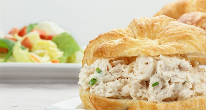 These Chicken Salad Croissants Are Made With Simple Ingredients But The Flavor Is Amazing!