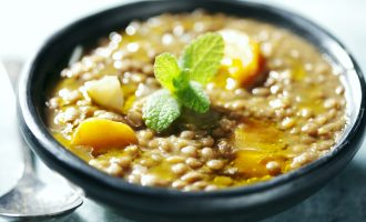 This Butternut, Sweet Potato and Red Lentil Stew Makes Us Want to Curl Up In Front of the Fire!