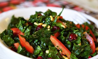 Think You Don't Like Salad? This Creamy Kale and Chickpea Salad Will Change Your Mind!