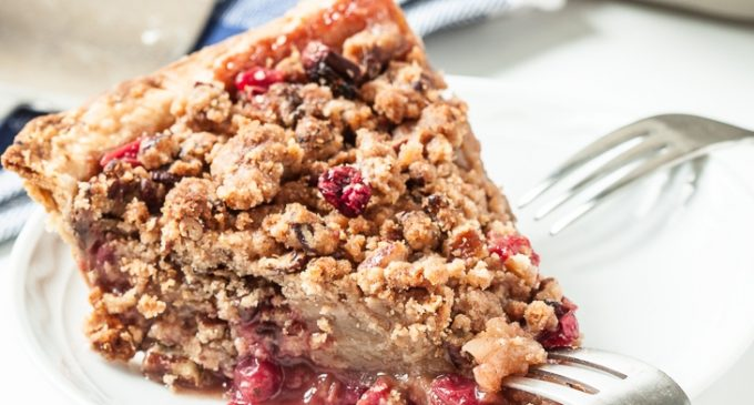 This Dutch Apple Cranberry Pie Is So Incredible And That Topping Makes It Irresistible!