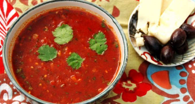 Move Over Plain Tomato Soup, This Moroccan Tomato Soup Takes Things Up A Notch And It Is Incredible!