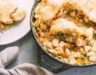 Chicken Pot Pie For A Busy Weeknight: It Is Made In A Skillet In Minutes And Tastes Amazing!