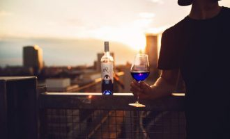 There Is A New Brightly Colored Blue Wine But Some People Aren't Sure If It Really Wine At All!
