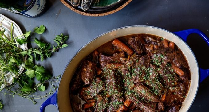 Raise Your Glass! These Wine Braised Short Ribs Are the Perfect Centerpiece to Any Meal!