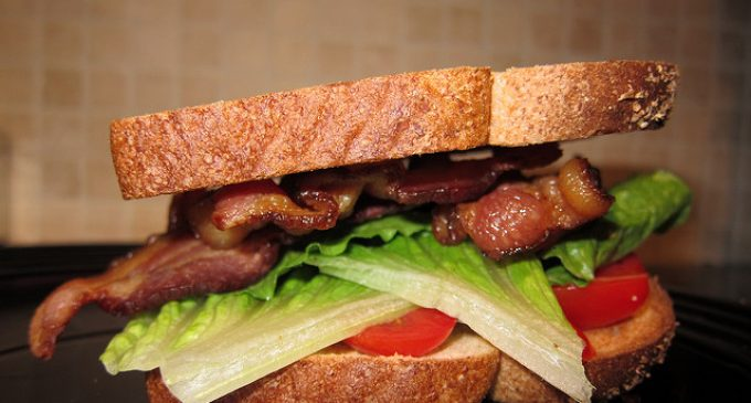 I Did This With The Bacon Before I Made My BLT & It Was AWESOME!!!