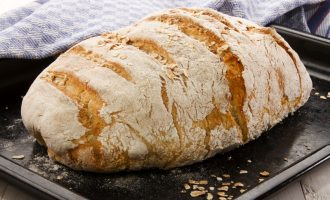 Warm Out Of The Oven This No Knead Country Loaf Will Become Your Favorite Go To!