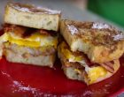 This Amazing Sandwich Proves That French Toast Isn't Just for Breakfast!