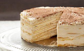 This Decadent Tiramisu Crepe Cake Will Blow Your Mind